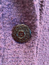 Load image into Gallery viewer, Chanel vintage 97A, 1997 Fall Boucle grape Color Blazer Jacket FR 42