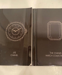 "Vintage ""The Chanel Watch Collection"" 2006 hardcover book catalog"