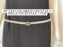 Load image into Gallery viewer, Chanel 05A MultiColor CC Strass Swarovski crystal Belt