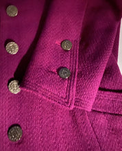 Load image into Gallery viewer, Chanel Vintage 97A, 1997 Fall Merlot Jacket Blazer FR 34 US 2/4