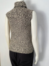 Load image into Gallery viewer, Chanel 04A Cashmere Brown Cable Knit Tweed Sweater Top FR 36 US 4