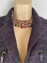 Load image into Gallery viewer, Rare Chanel 08A 2008 Fall Gripoix multicolor collar Necklace
