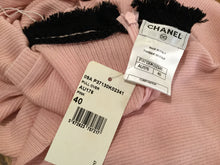 Load image into Gallery viewer, New with Tags Chanel 09A pink knit pullover sleeveless cashmere sweater FR 40 US 4