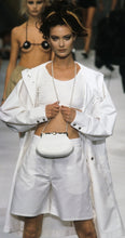 Load image into Gallery viewer, 96P, 1996 Spring Vintage Chanel Boutique White Nylon Sport Shorts US 6