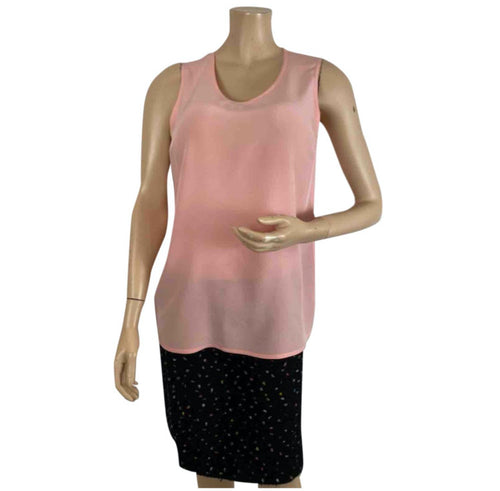 Chanel Pink Camisole Shell Blouse US 8/10