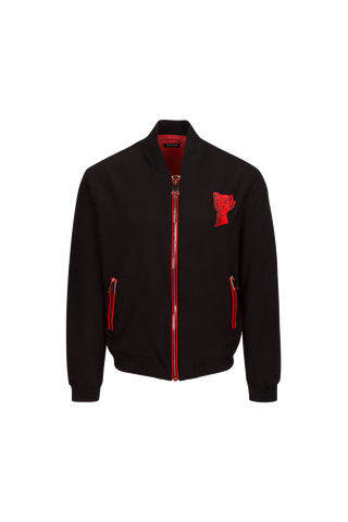 THUMISANG LOGO BOMBER — RED