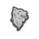 Lion Head PVC Patch
