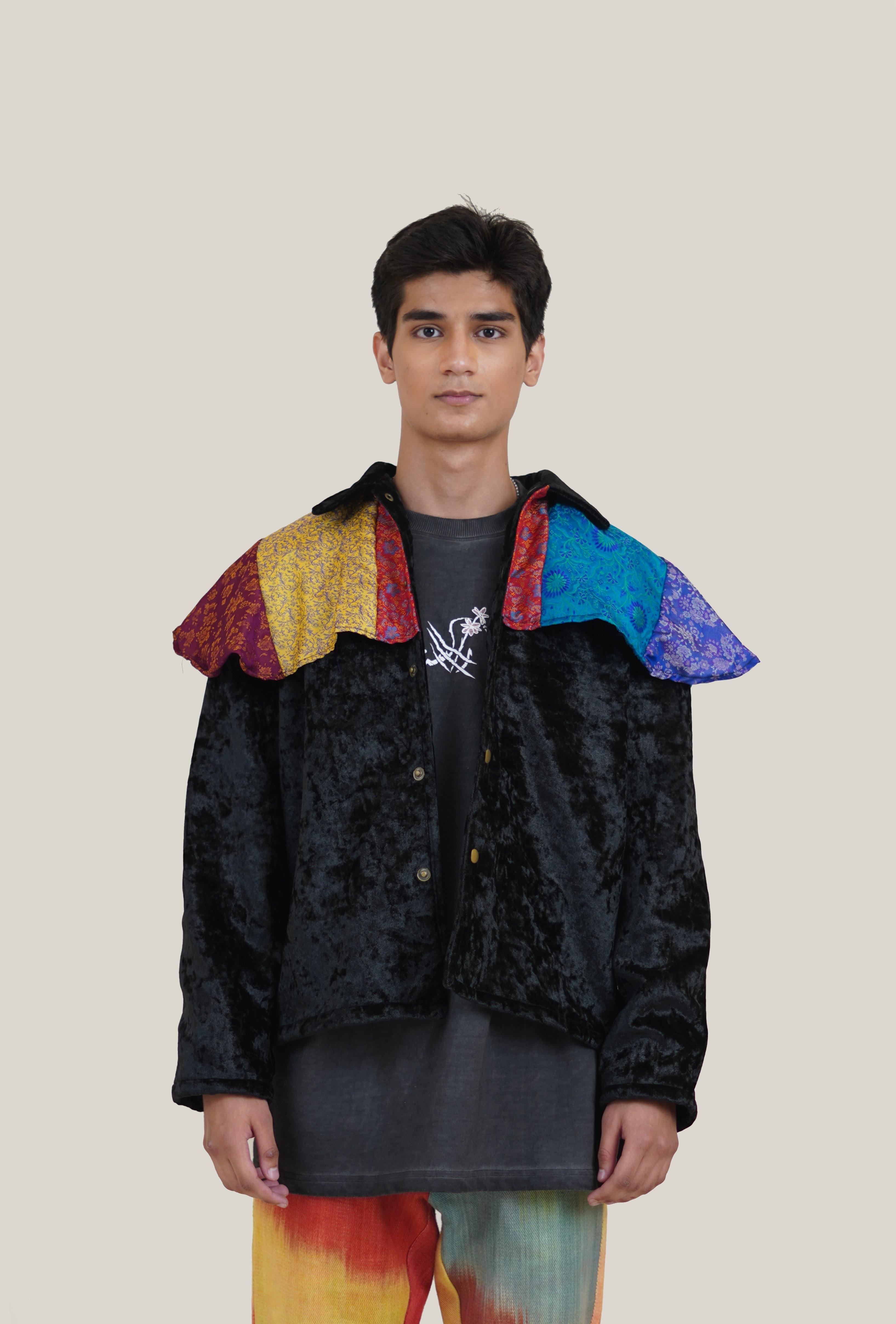 Banarsi Applique Velvet Jacket