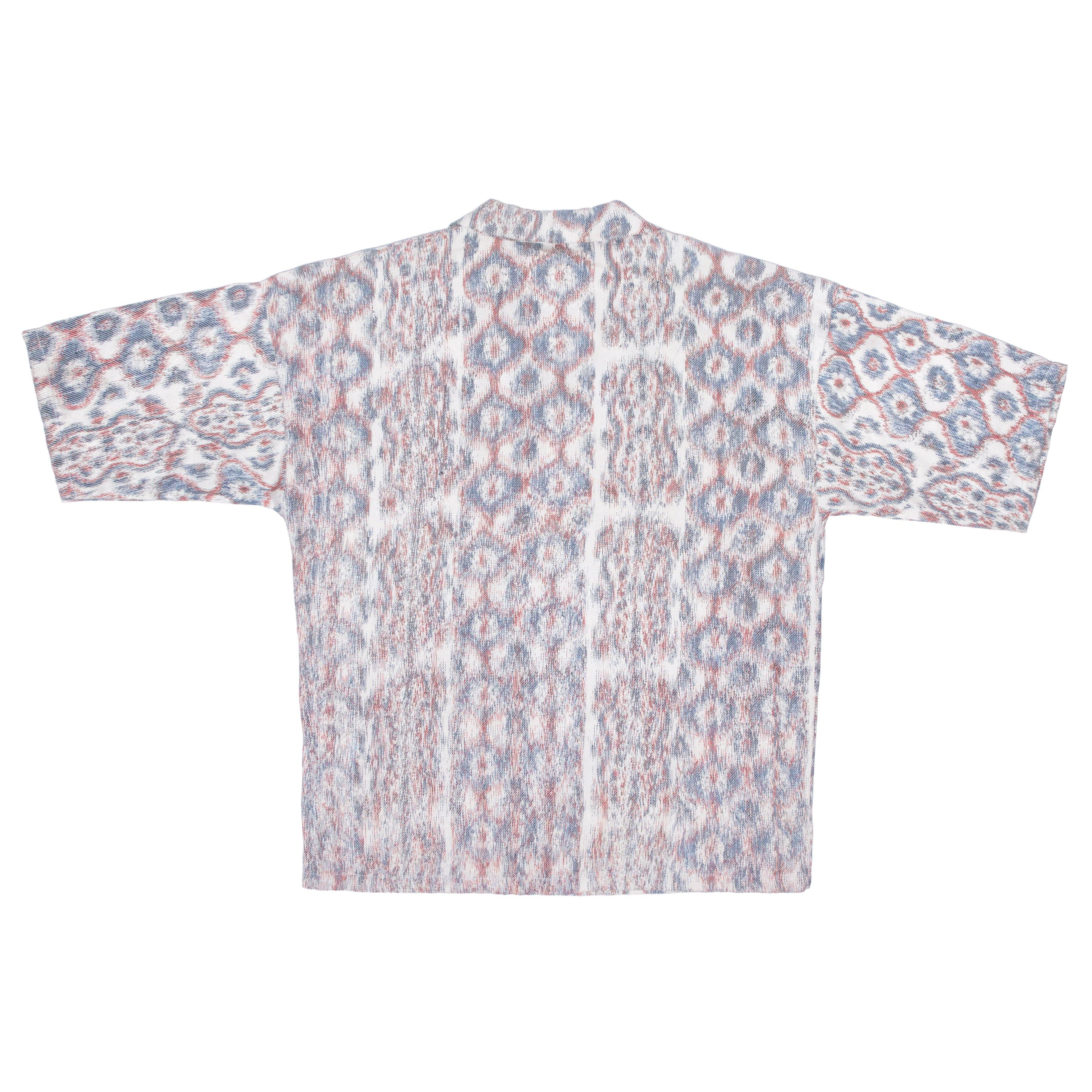"Warp Printed ""ILLUSION"" Shirt"