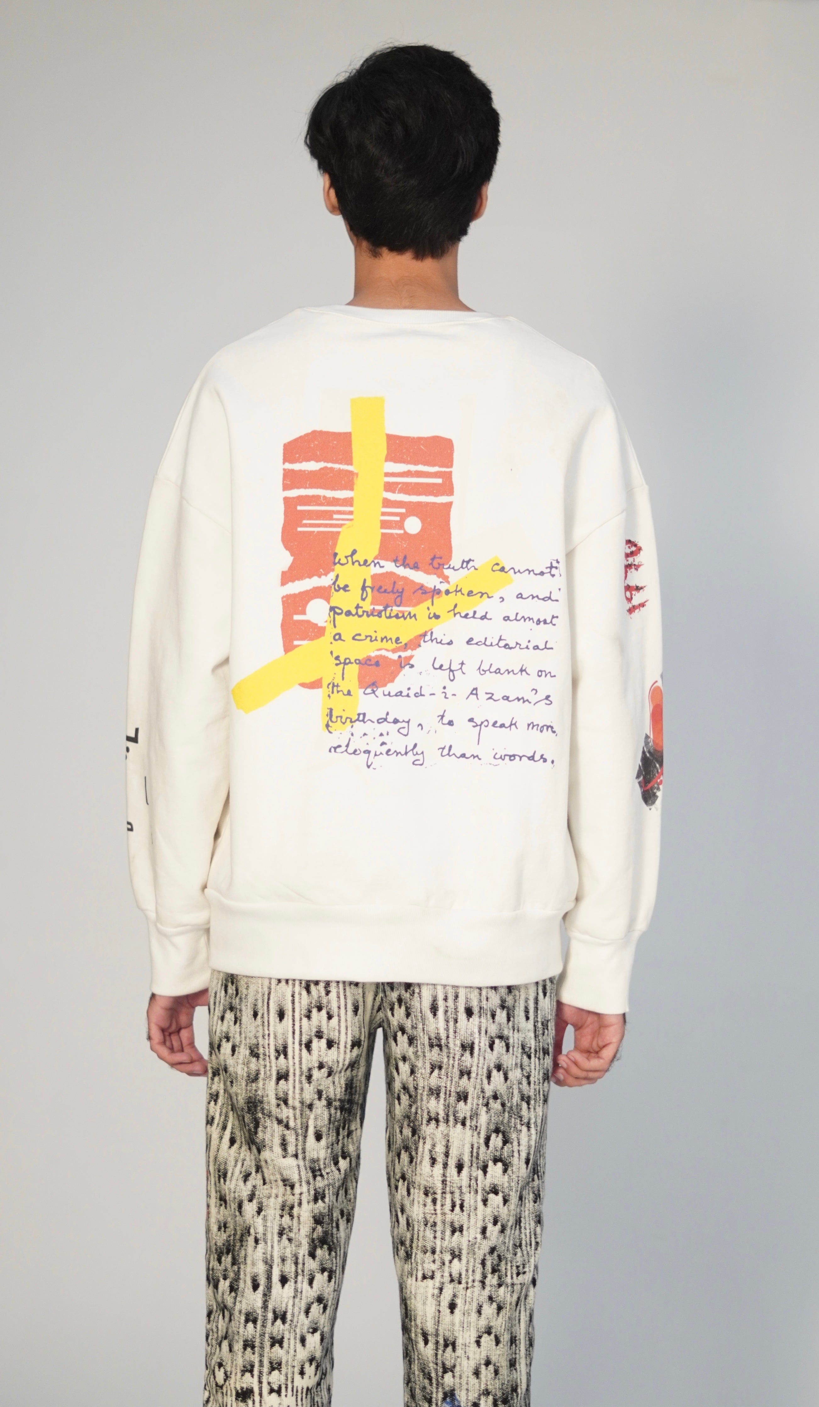 """SUBLIMINAL"" Heavyweight Graffiti Sweatshirt"
