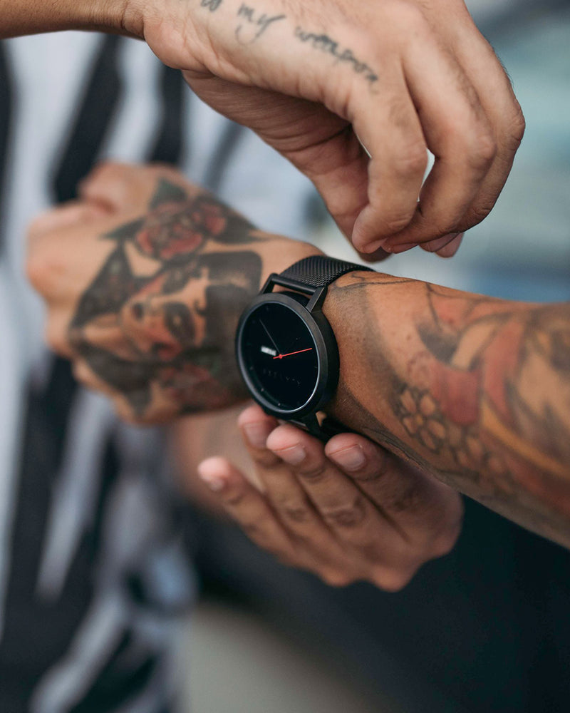 Ala Verb Watch - Matte Black