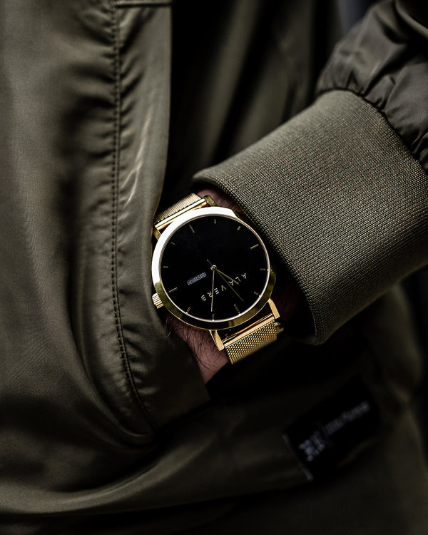 Ala Verb Watch - Gold