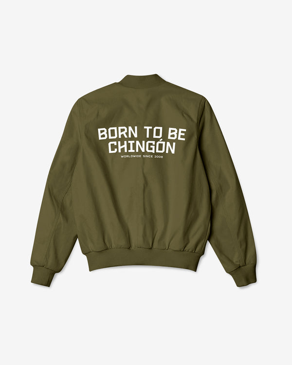 Born To Be Chingón Bomber Jacket