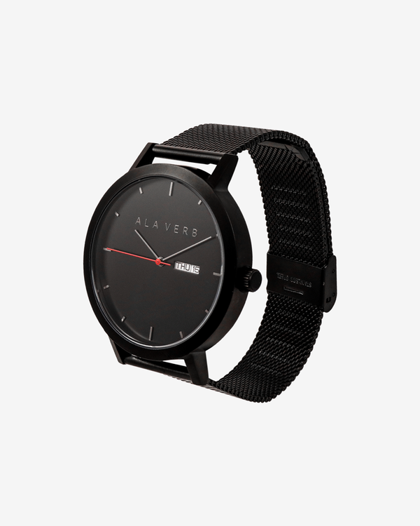Ala Verb Signature Watch - Black