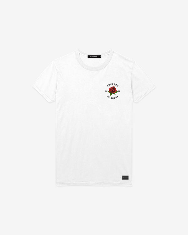 Fuck Off - No Jodas Tee - White