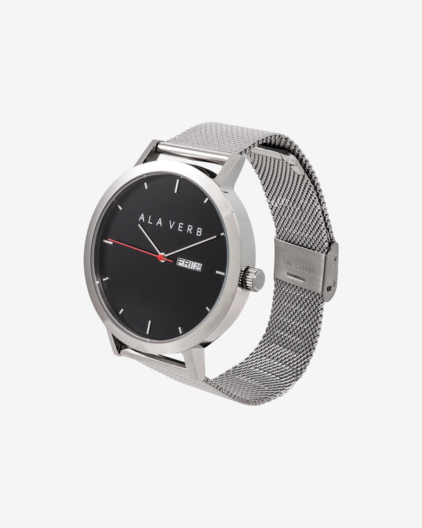 Ala Verb Signature Watch - Silver