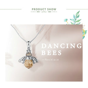 Bee Pendants Necklace