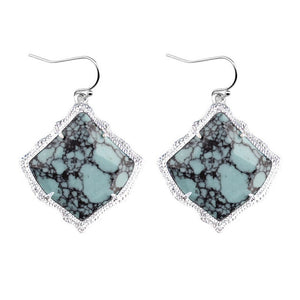 New Fan Shape Abalone Southern Shell Earrings