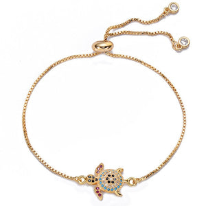 Sea Turtle Adjustable Bracelet