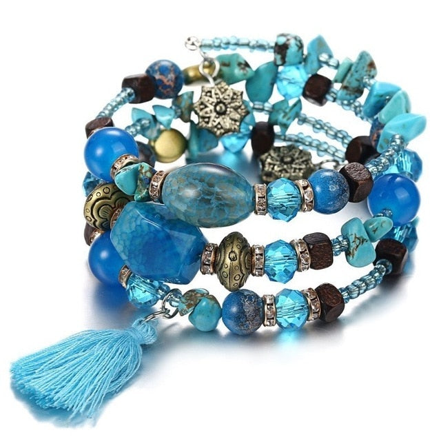 Boho Colorful Beads Bracelet