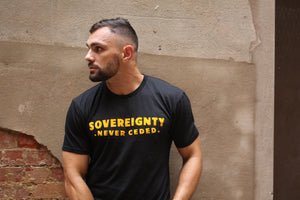 SOVEREIGNTY NEVER CEDED TEE.