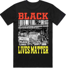 Load image into Gallery viewer, BLACK LIVES MATTER X WAR TEE