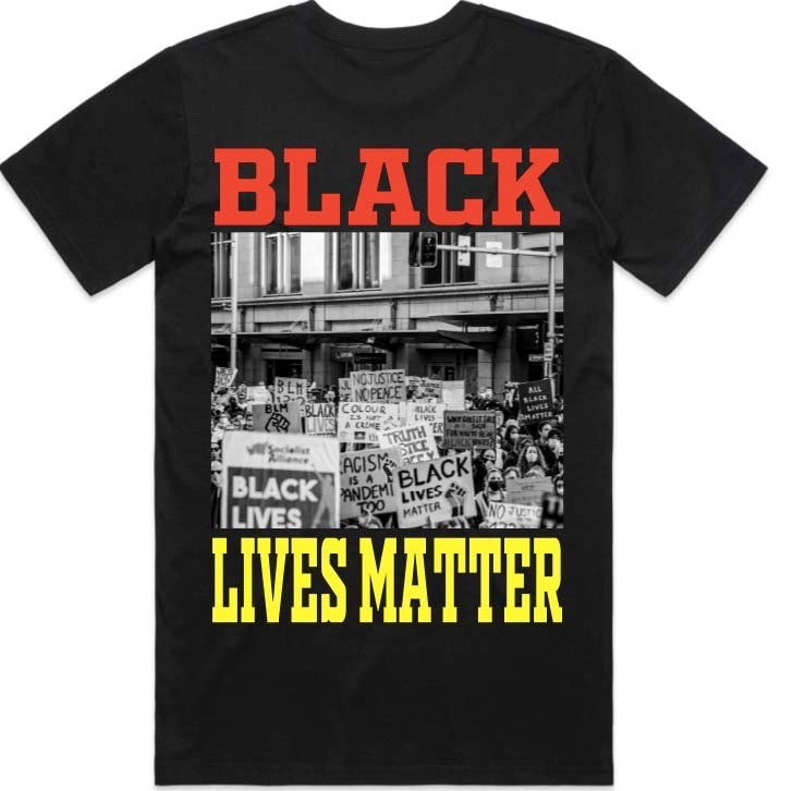 BLACK LIVES MATTER X WAR TEE