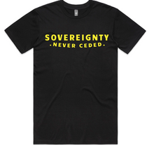 Load image into Gallery viewer, SOVEREIGNTY NEVER CEDED TEE.