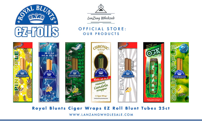 ROYAL BLUNTS EZ ROLLS (Caja con 50 display surtida con 6 sabores)