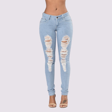 Hole Ripped Jeans
