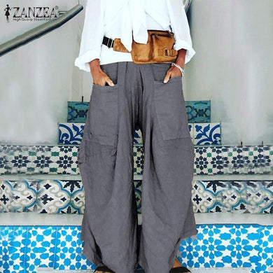 Waist Pockets Pants