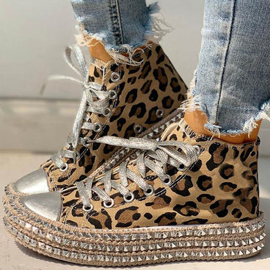 Casual Leopard Shoes
