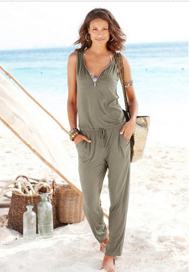 Trousers Beach Jumpsuit