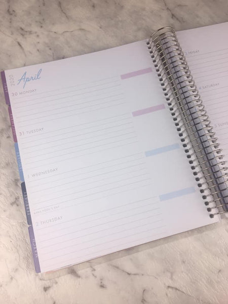 Recollections - Medium - Unicorn Spiral Planner