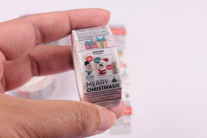 A Christmas Message Washi Tape - Wide Washi - 20mm