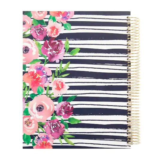 Recollections - Large - Bella Flora Hardcover Spiral Planner