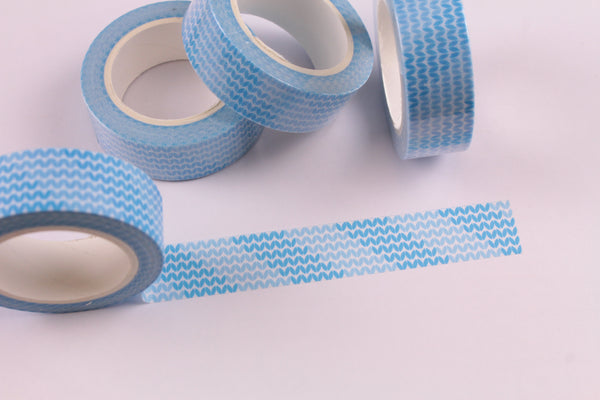 Blue Wave Washi Tape