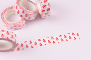 Christmas Trees washi tape