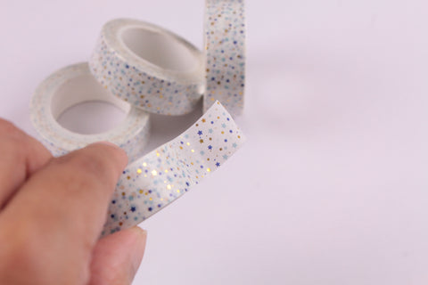 Foiled Houndstooth Washi Tape