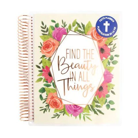 Recollections - Medium - Find the Beauty Faith Spiral Planner