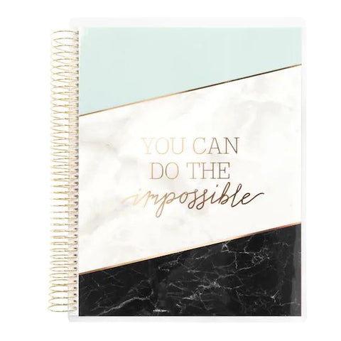 (***Oops***) Recollections - Large - You can Do the Impossible Spiral Planner