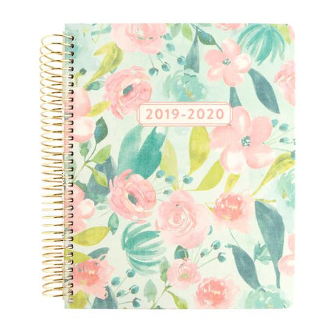 Recollections - Medium - Allover Flower Spiral Planner