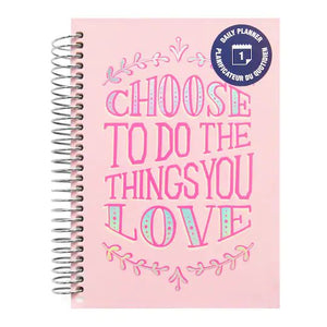 (***Oops***) Recollections - Mini - To Do Daily Spiral Planner