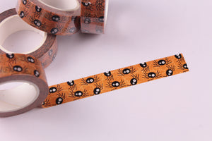 Creepy Spiders Washi tape