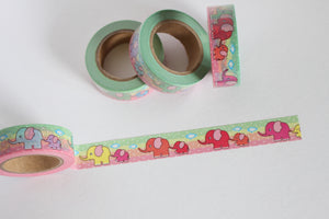 Cute Elephant Washi Tape