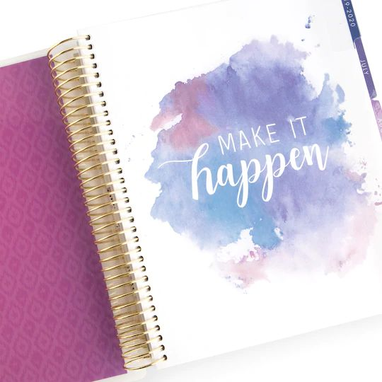 (***Oops***) Recollections - Medium - Have the Courage Spiral Planner