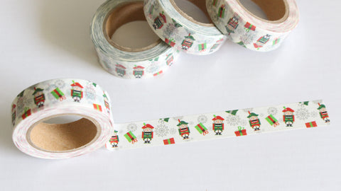 Christmas Nutcracker Washi Tape