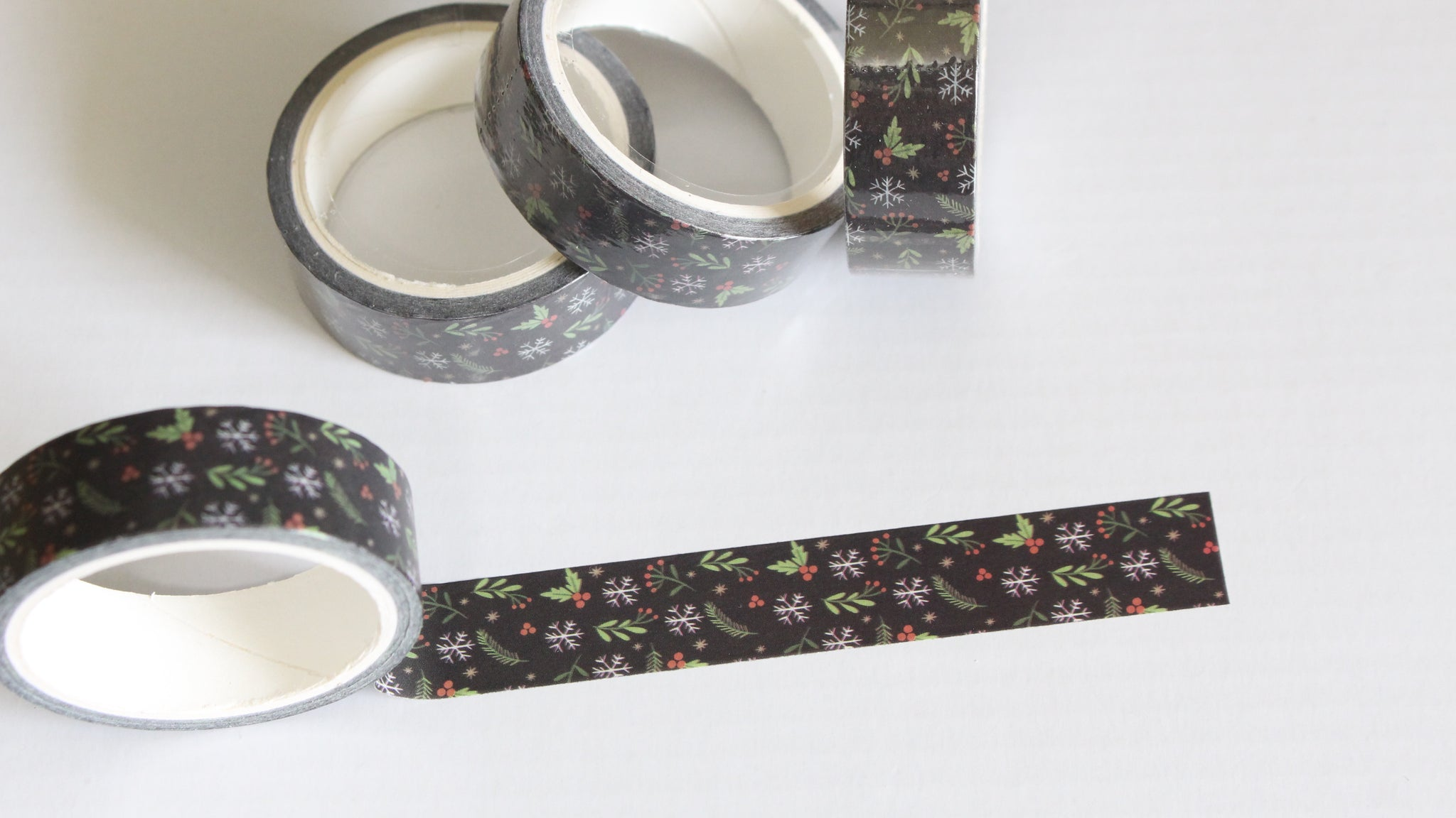 Christmas floral Washi Tape