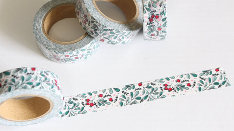 Christmas Berries Washi Tape