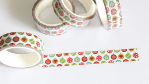 Christmas Ornaments Washi Tape